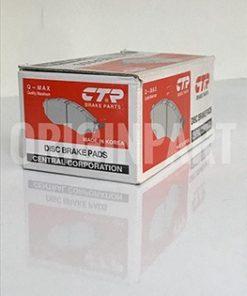لنت ترمز جلو CTR مدل CKKH-40N مناسب برای هیوندای I30