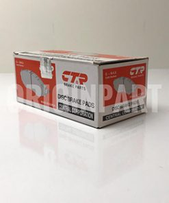 لنت ترمز جلو CTR مدل CKKK-46 مناسب برای هیوندای گرنجور HG16