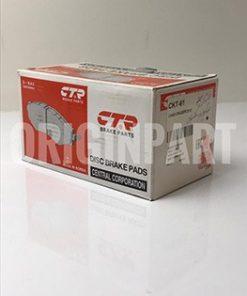 لنت ترمز جلو CTR مدل CKT-61 مناسب برای تویوتا لندکروز ۲۰۱۰