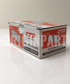 لنت ترمز عقب CTR مدل CKKH-32N مناسب برای هیوندای سانتافه ، سانگ یانگ رکستون و کایرون